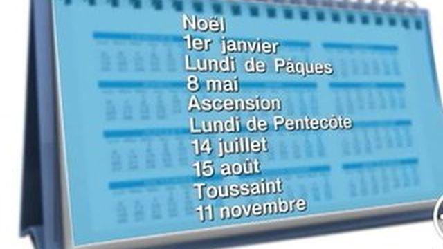 Les jours fériés en mai coûteront 5 milliards d'euros à l'économie française