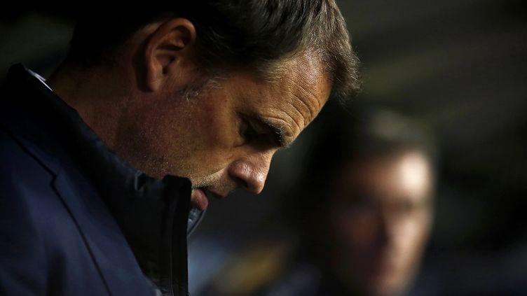 Franck de Boer, sur la sellette à l'Inter Milan, est en plein doute après cette nouvelle défaite à la Sampdoria...