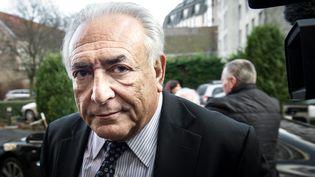 Dominique Strauss-Kahn, le 17 février 2015, à Lille. (PHILIPPE HUGUEN / AFP)