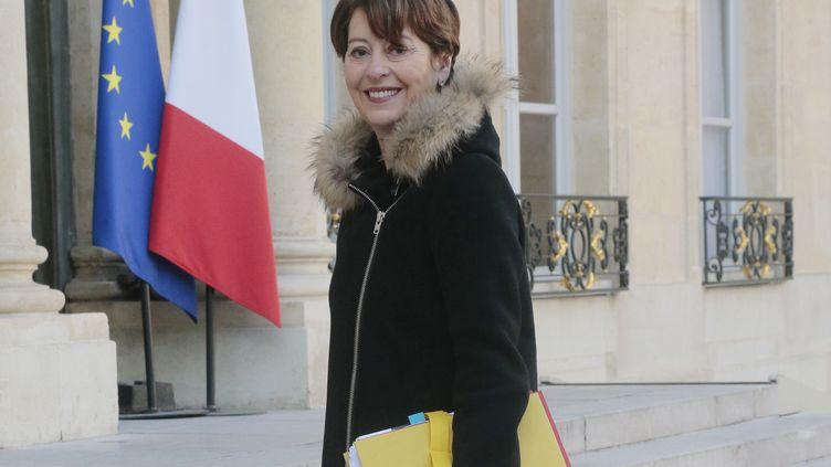 La Ccontrôleure générale des lieux de privation de liberté, Adeline Hazan, le 5 mars 2015 à l'Elysée à Paris. (JACQUES DEMARTHON / AFP)
