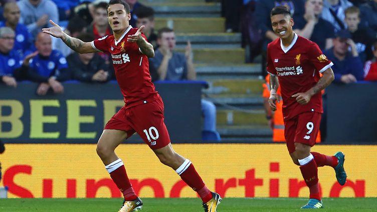Philippe Coutinho décisif avec Liverpool (GEOFF CADDICK / AFP)