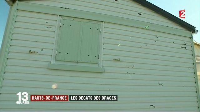 Hauts-de-France : importants dégâts après de violents orages et la grêle