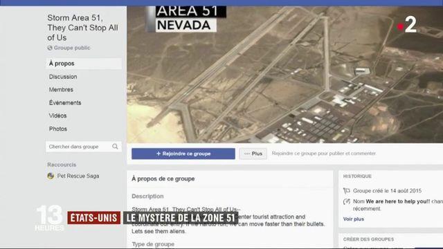 États-Unis : 1,3 million de personnes veulent envahir la mystérieuse zone 51