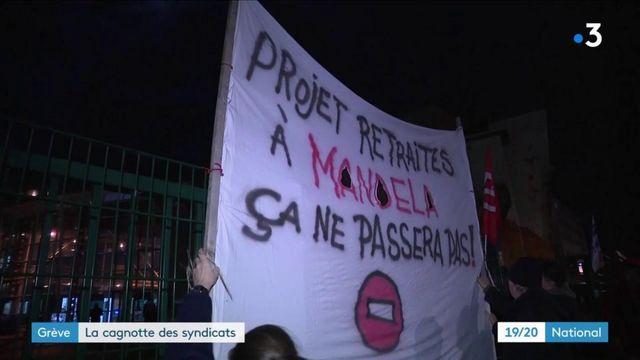 Grève contre la réforme des retraites : les syndicats à l'initiative de cagnottes pour soutenir les grévistes