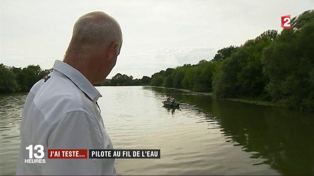 La Saône : J'ai testé... pilote au fil de l'eau