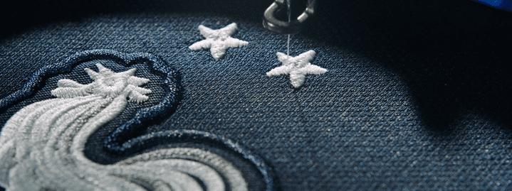 L'équipementier Nike diffuse une image des deux étoiles brodées sur son site. (NIKE)