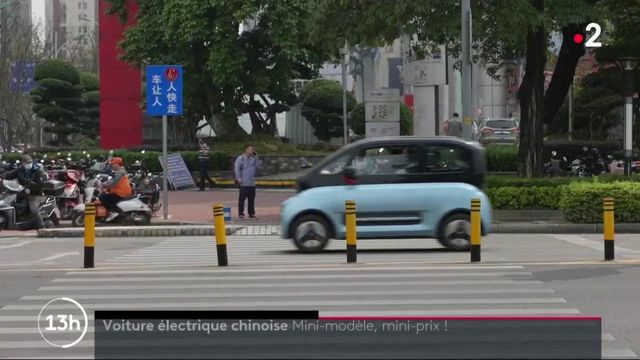 Automobile : zoom sur la Hongguang Mini EV, la voiture électrique la plus vendue en Chine