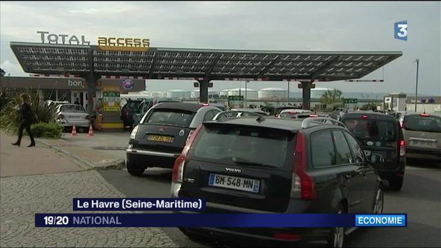 Grèves : pénurie d'essence dans les stations-service du Havre