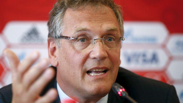 (Jérôme Valcke, ancien numéro 2 de la Fifa © Reuters/MAXIM ZMEYEV)