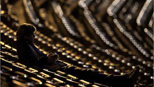 """Brad Pitt dans le film """"Le Stratège"""", sur les écrans le 16 novembre 2011. (SONY PICTURES RELEASING FRANCE)"""