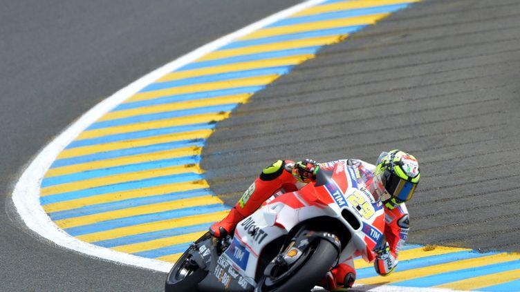 Andrea Iannone (Ducati) (JEAN-FRANCOIS MONIER / AFP)