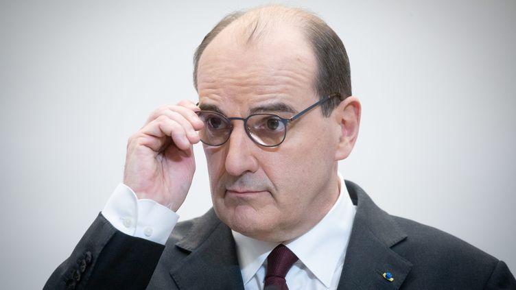 Jean Castex, le 25 février 2021. (FRED DUGIT / MAXPPP)
