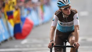 Romain Bardet sur le Tour de France 2019. (MARCO BERTORELLO / AFP)