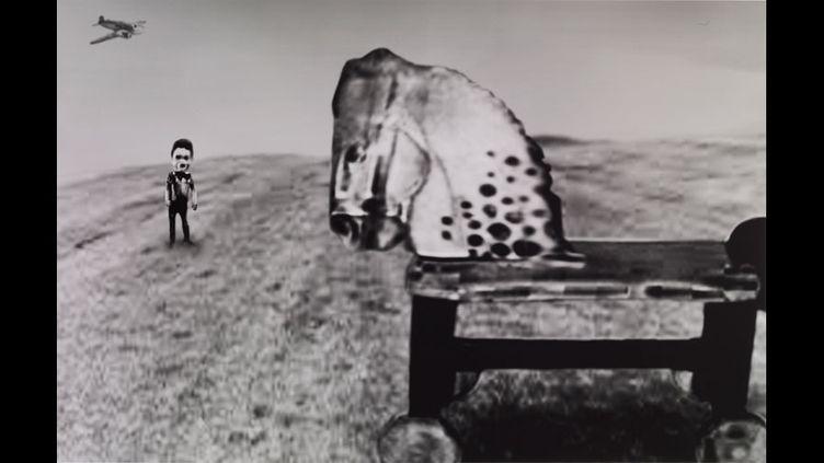 David Lynch, Thinking of childhood  (David Lynch, Courtesy Galerie Item, Paris)