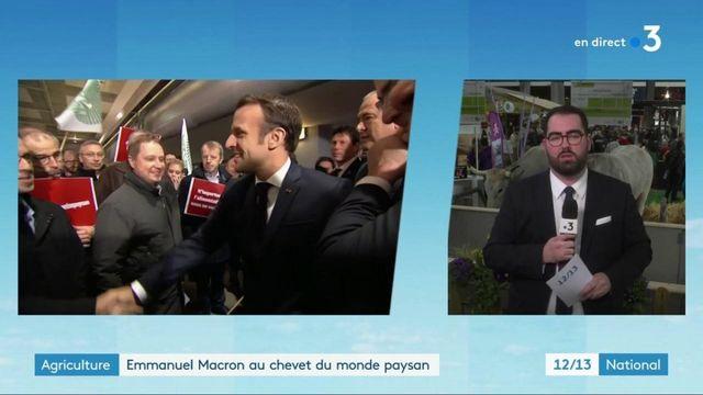 Salon de l'agriculture : Emmanuel Macron au chevet du monde paysan