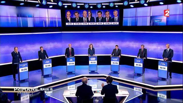 Primaire de la droite : ce qu'il faut retenir du troisième débat