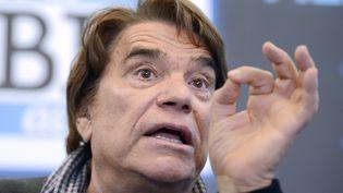 L'homme d'affaires Bernard Tapie, le 12 mars 2014 à Marseille (Bouches-du-Rhône). (FRANCK PENNANT / AFP)