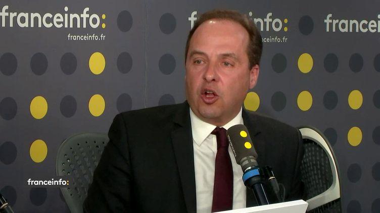 Le député de Seine-Saint-Denis et patron de l'UDI Jean-Christophe Lagardele 20 février sur franceinfo. (FRANCEINFO / RADIO FRANCE)