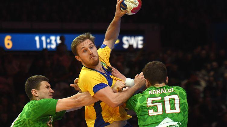 La Suède sera sur le chemin de la France en quarts de finale du Mondial  (FRANCOIS LO PRESTI / AFP)