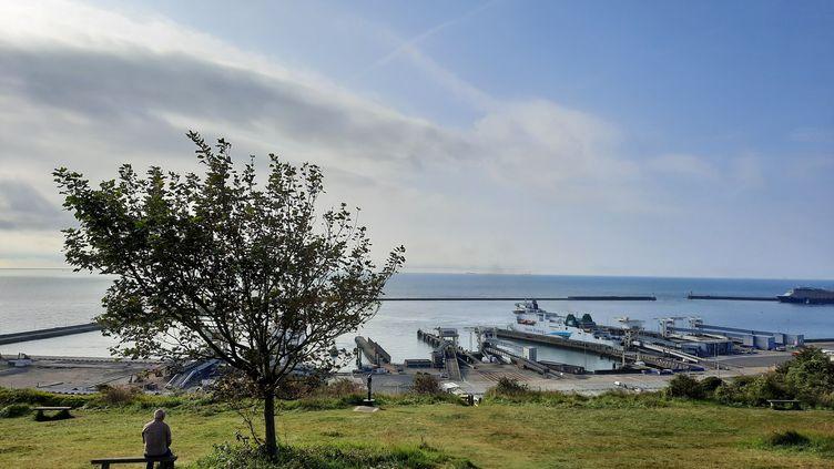 Le port deDouvres,au sud-est de l'Angleterre, le 17 septembre 2021. (RICHARD PLACE / RADIO FRANCE)