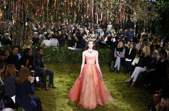 Dior haute couture printemps-été 2017, à Paris, janvier 2017  (Francois Mori/AP/SIPA)