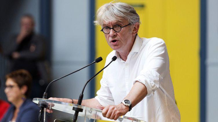 (Jean-Claude Mailly le numéro 1 de FO © GEOFFROY VAN DER HASSELT / AFP)