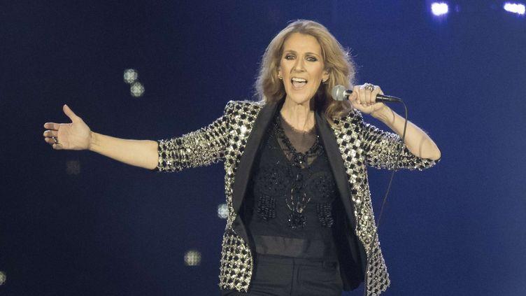 Céline Dion en concert à Nice, le 20 juillet 2017  ( SYSPEO/SIPA)