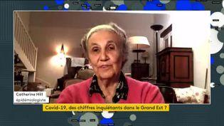 Catherine Hill, épidémiologiste,le vendredi 12 juin 2020 sur franceinfo. (FRANCEINFO)
