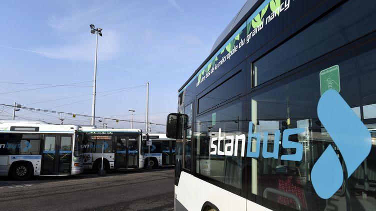 Un bus du réseau de transports Stan, à Nancy. (ALEXANDRE MARCHI / MAXPPP)