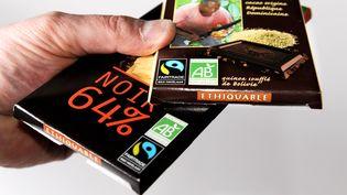 Chocolat de commerce équitable. Photo d'illustration. (MAXPPP)