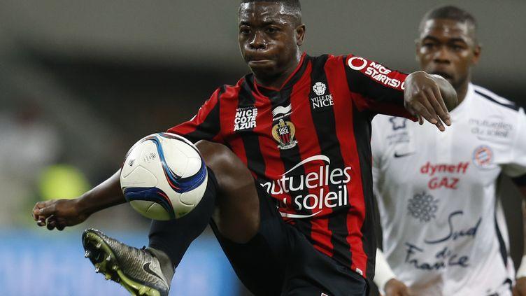 Après trois saisons chez les Aiglons, Nampalys Mendy prend son envol vers Leicester (VALERY HACHE / AFP)