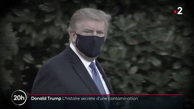 Covid-19 : l'état de santé réel de Donald Trump reste flou