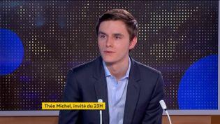 Théo Michel (LR) (FRANCEINFO)