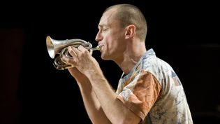 """Médéric Collignon et son fameux cornet de poche feront partie des stars du jazz présent lors de ce """"méga concert"""".  (Fred Toulet/Leemage)"""