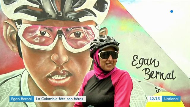Tour de France : la Colombie fête Egan Bernal, son héros