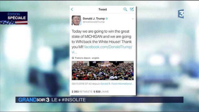 Élection américaine : Twitter, la faiblesse de Donald Trump?