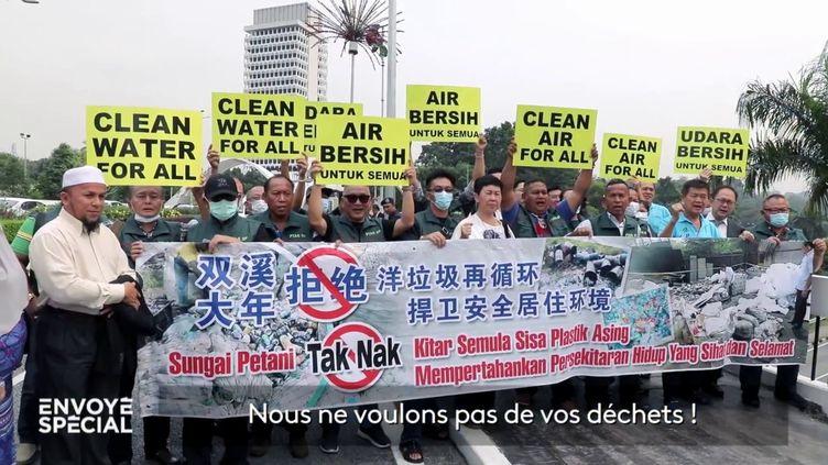 Nos déchets en plastique empoisonnent la Malaisie (ENVOYÉ SPÉCIAL  / FRANCE 2)