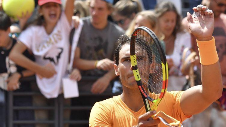 L'Espagnol Rafaël Nadal (ANDREAS SOLARO / AFP)