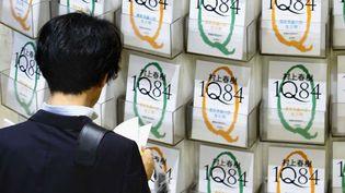 1Q84, le roman d'Haruki Murakami s'est vendu au Japon à près de 4 millions d'exemplaires  (Shizuo Kambayashi/AP/SIPA)