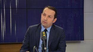 Sébastien Chenu, député RN du Nord, sur franceinfo. (FRANCE INFO / Jean-Christophe Bourdillat)
