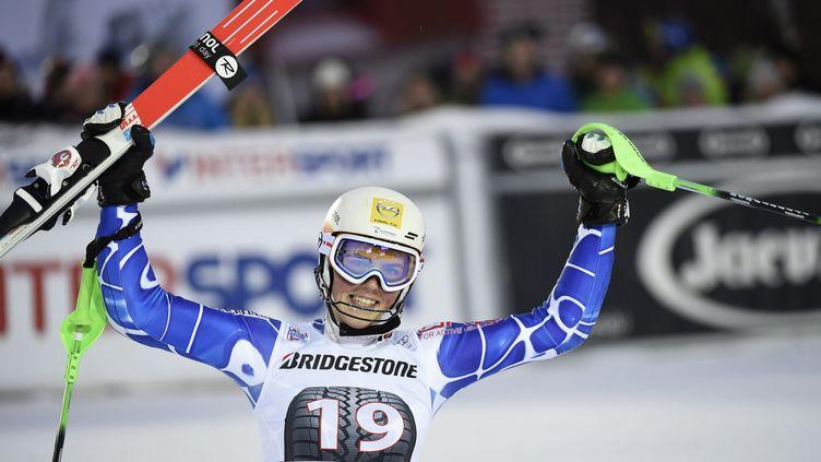 La Slovaque Petra Vlhova, victorieuse du slalom d'Are (PONTUS LUNDAHL / TT NEWS AGENCY)