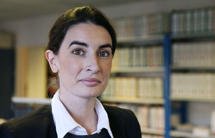 Agnès Verdier-Molinié, le 5 décembre 2013, à Paris. (PATRICK KOVARIK / AFP)