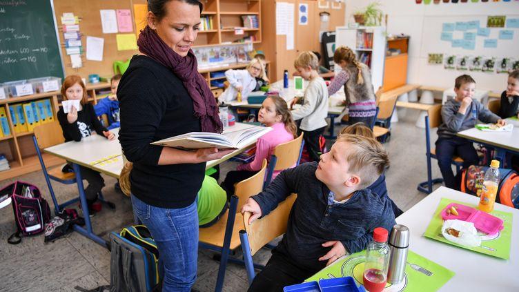 Une école allemande (FELIX K?STLE / FELIX K?DPA)