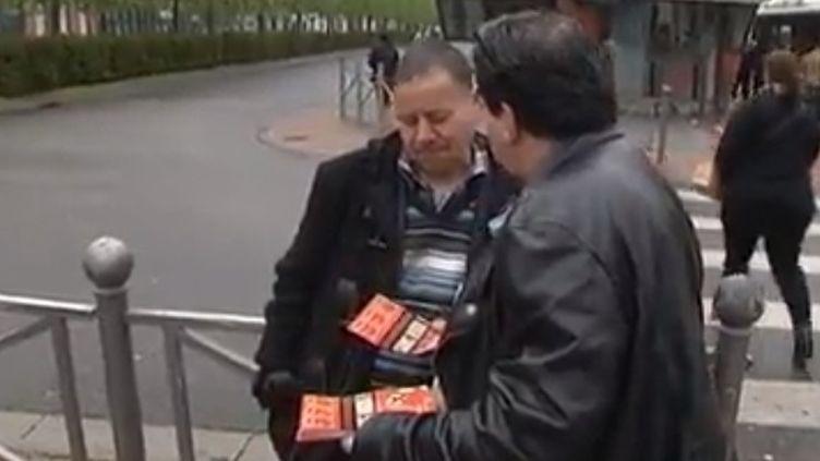 Roubaix (Nord), depuis quelques années, est devenue la capitale de l'abstention. Seuls six électeurs sur dix se sont déplacés aux urnes pour le premier tour de l'élection présidentielle 2017. (FRANCE 2)