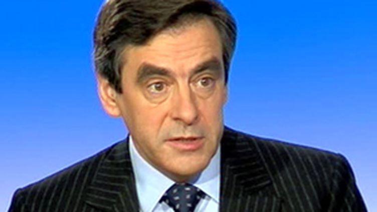 François Fillon, Premier ministre (© F3)
