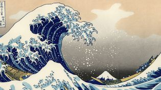 """La Grande Vague de Kanagawa"" de Hokusai (1831)  (Wikimedia Commons)"