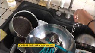 Le manque d'eau est un problème en Guadeloupe (FRANCEINFO)