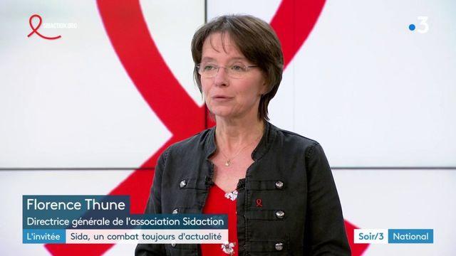 """Florence Thune (directrice générale de l'association Sidaction) : """"Le VIH ne fait plus peur"""""""