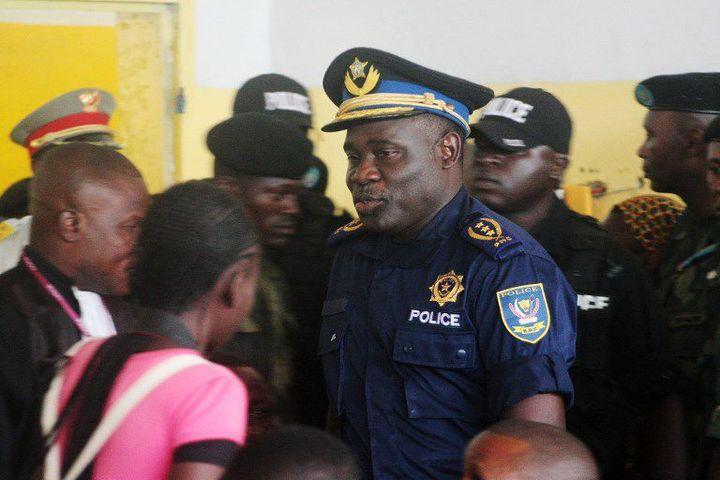 L'ancien chef de la police congolaise, le général John Numbi, est l'un des huits policiers accusés de la mort de l'activiste des droits de l'Homme Floribert Chebeya. (Photo AFP/Junior Kannah)