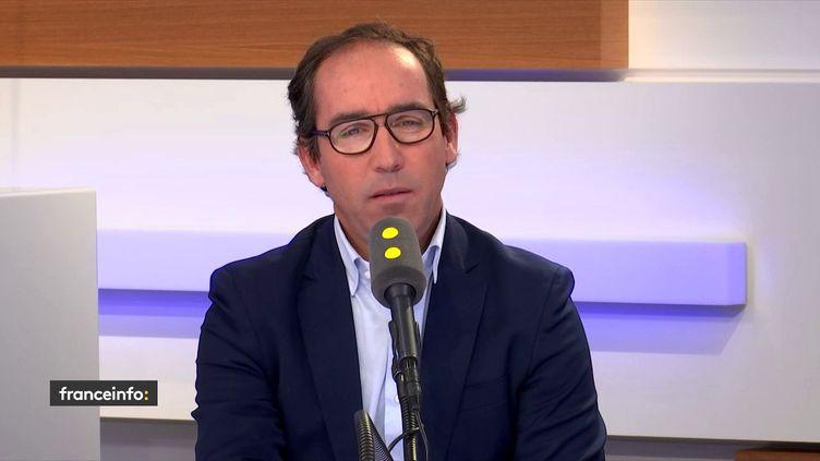 José Luis Llacuna, le PDG de Pyrex, invité de franceinfo mercredi 7 novembre. (FRANCEINFO / RADIOFRANCE)